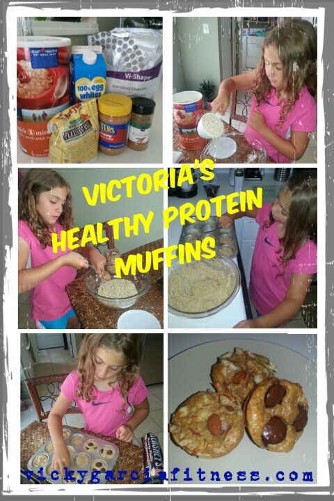 Protein Muffins for Kids and adults