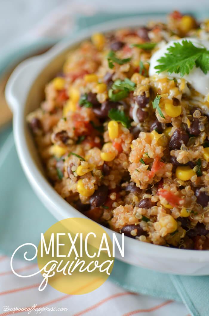 Recipe!!! Mexican Quinoa! Delicioso!!!
