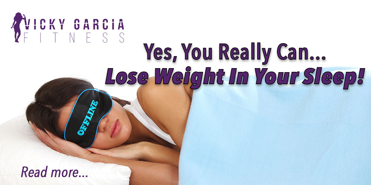 lose weight in your sleep