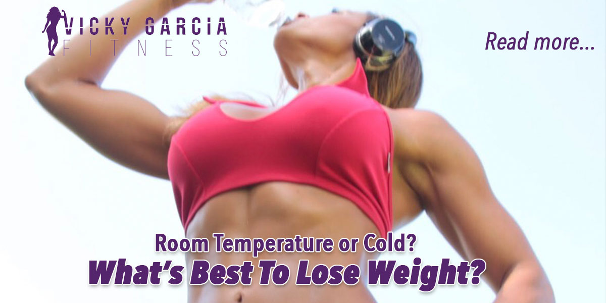 best water temp for losing weight