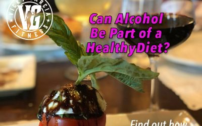 Is it OK to drink alcohol if you're trying to eat a healthier diet?